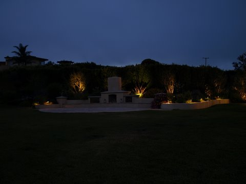 Newbury Park Landscape Lighting Patio Area