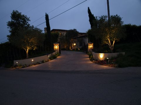 Newbury Park Landscape Lighting Fixtures