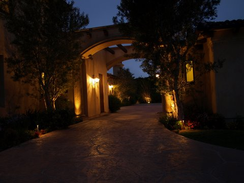 Newbury Park Landscape Lighting Modern Landscape  Lighting