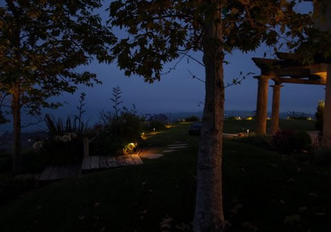 Newbury Park Landscape Lighting Pathways